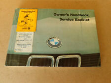 BMW E28 525E 528i 525i 535i M535i 08/1985 Owners Manual Part 9699371