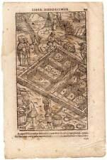 Minería-metales de agricola-de Re Metallica corte de madera para 1550