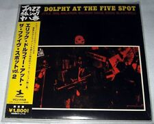 Eric Dolphy - At the Five Spot, Volume 2 (1961) JAPAN Mini LP CD (2006) NEW VOL.