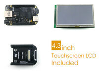 BeagleBone Black Pack C 1GHz ARM Cortex-A8 512MB DDR3 4GB 8bit eMMC +4.3inch LCD