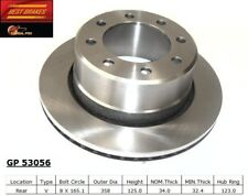 Disc Brake Rotor-Standard Brake Rotor Rear Best Brake GP53056