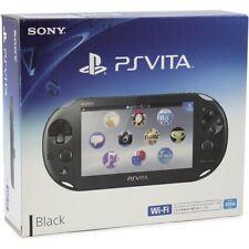 PlayStation Vita WiFi Black PCH-2006ZA11 Japan Import PSVita Game Black