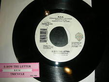 """Pop 45 R.E.M. """"E-Bow The Letter / Trucycle"""" WARNER  NM w/ TITLE STRIP"""
