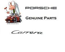 "Porsche 911 99-05 Genuine Emblem ""Carrera"" (Silver) for Decklid 996559237104PU"