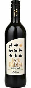 Jack Rabbit Merlot USA Red Wine Case 6 x 75cl Bottles
