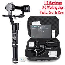 Zhiyun Crane-M 3Axis Handheld Gimbal Video Stabilizer for Mirrorless DSLR Camera