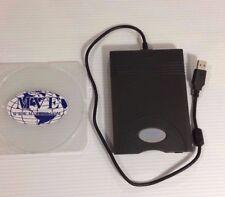SAMSUNG SFD-321U/HP 254304-001 BLACK EXTERNAL USB FLOPPY DISK DRIVE FDD