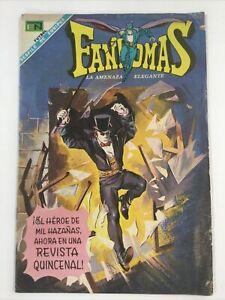 1969 SPANISH COMICS FANTOMAS #1 LA AMENAZA ELEGANTE EDITORIAL NOVARO MEXICO