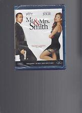 MR. & MRS. SMITH/Brad Pitt, Angelina Jolie/BLU-RAY/BUY ANY 4 SHIP FREE