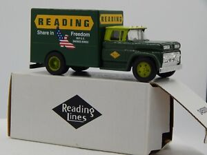 ERTL  - 1/43 SCALE - EASTWOOD AUTO.60'S DELIVERY TRUCK # 345000 READING LINES