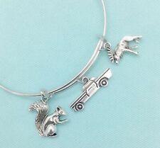 Dean & Sam (Supernatural) Friendship with Impala charms Bangle Bracelet.