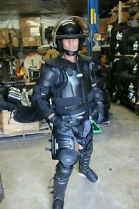 VTOP V-TOP ABA Complete Hard-Shell Riot Suit Gear( Size LARGE ) w/ Bag USA