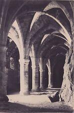 l'intérieur du Château de Chillon Suisse Vintage albumine ca 1870