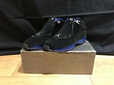 Air Jordan 18 Retro XVIII OG 2003 Black Royal Blue Shoes NBA Size UK 8.5 US 9.5
