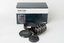 Voigtlander Nokton 25mm f/0.95 f0.95 Lens, Micro Four Thirds M4/3 Mount