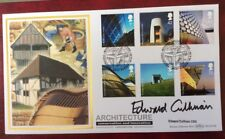 2006 Modern Architecture FDC Downland Gridshell, Sussex,Signed EDWARD CULLINAN