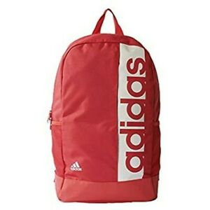 adidas Linear Performance Backpack coral pink.