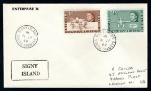 British Antarctic Territory - 1969 Cover Signy Island South Orkneys