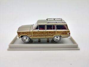 1963 Jeep Wagoneer Wood Panel Sides HO - Brekina #19856  vmf121