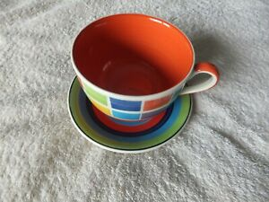 Large Whittard Cup and Saucer