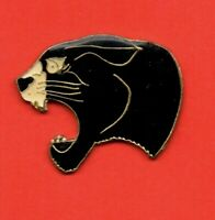 Pin's lapel pin pins Tête de panthère noire Black Panther Head