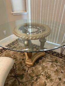 Glass Formal Dinning Table