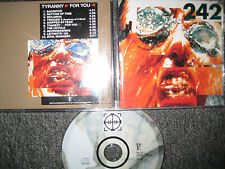 CD Front 242 – Tyranny For You    RARE CD Electronic Industrial EBM KULT ALBUM
