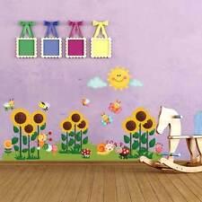 OCCASIONE! R00255 Wall Stickers Adesivi Murali Campo di girasoli 90x30cm