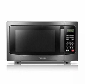 Toshiba Em131A5C-Bs Microwave Oven With Smart Sensor Easy Clean Interior, Eco Mo