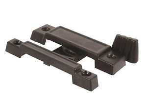 Prime-Line Slide-Co 17755 Cam Action Universal Window Sash Lock, Black/Diecast