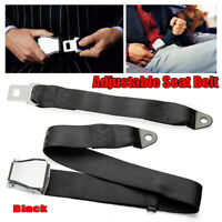 Adjustable Airplane Extension Seat Belt Buckle Durable High Tensile Strength