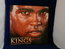 WHEN WE WERE KINGS~SOUNG TRACK~MUHAMMAD ALI ~ PROMO POSTER FLAT ~