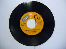 Tommy Cash I Recall A Gypsy Woman/You'll Need The Love 45 RPM Epic Record