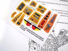 MOTU Masters of the Universe replacement sticker for 1983 ROAD RIPPER + BONUS!!!