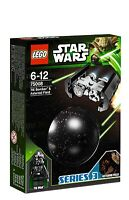LEGO Star Wars 75008 TIE Bomber Pilot Asteroid Field Planet Kugel Series 3