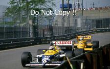 Nelson Piquet Williams FW11B Detroit Grand Prix 1987 fotografía 2