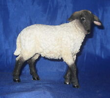 "Lamb Figurine Sheep Farm Animal Poly Stone 4.5"" High Statue New In Box"