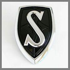 Nissan 65892-80F00 OEM Hood Emblem S14 240SX Silvia JDM SR20 SR20DET Black
