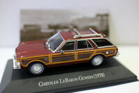 1/43 Scale Diecast Model Car CHRYSLER LEBARON GUNYIN 1978 FOR COLLECTION