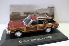 1/43 Scale Diecast Model Car CHRYSLER LEBARON GUNYIN 1978 FOR COLLECTION