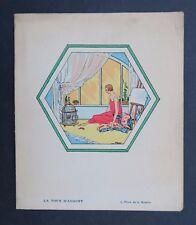 MENU années 1930 TOUR D'ARGENT Paris 4 place de la Bastille restaurant PARIS