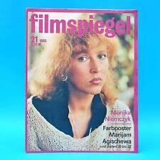 DDR Filmspiegel 21/1985 Catherine Deneuve Marijam Agischewa Buster Keaton Q