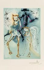 Le Picador - Les Chevaux de Dali by Salvador Dali Art Print
