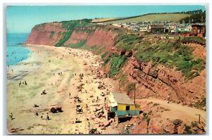 Postcard Sandy Bay Exmouth Devon