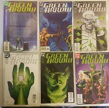"Green Arrow #16-21 ""Brad Meltzer Run Complete"" (2002) . MINT & UNREAD"