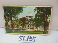 Vintage 1910 Postcard Stamp Posted City Hall El Paso Tx Texas Fred Harvey