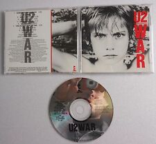 U2 WAR CD album NO BARCODE CANADIAN NO BAR CODE