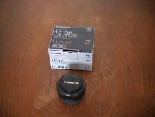 Panasonic Lumix G Vario 12-32mm F/3.5-5.6 ED Mega O.I.S Aspherical Lens (Black)