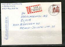 Ungeprüfte Briefmarken aus Berlin (1949-1990) mit Bedarfsbrief-Erhaltungszustand