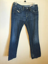 Womens Diesel KYCUTBrand Cotton Jeans Size 27/30, Made in Italy